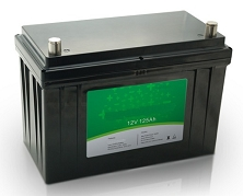 1.6kW 12V 125Ah<br>EV LiFePO4 Lithium Battery Pack<br>12.5 * 6.5 * 8.4 in.<br>35.2 Lbs.<br>MOQ 10