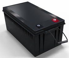 3840 Watts 12V 300Ah<br>EV LiFePO4 Lithium Battery Pack<br>20.4 * 10.6 * 8.7 in.<br>83.1 Lbs.