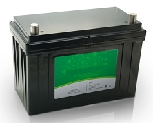1280 Watts 24V 50Ah<br>EV LiFePO4 Lithium Battery Pack<br>27.7 Lbs. / 12.6 Kg